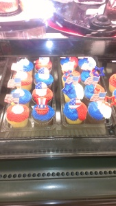4. july cupcakes